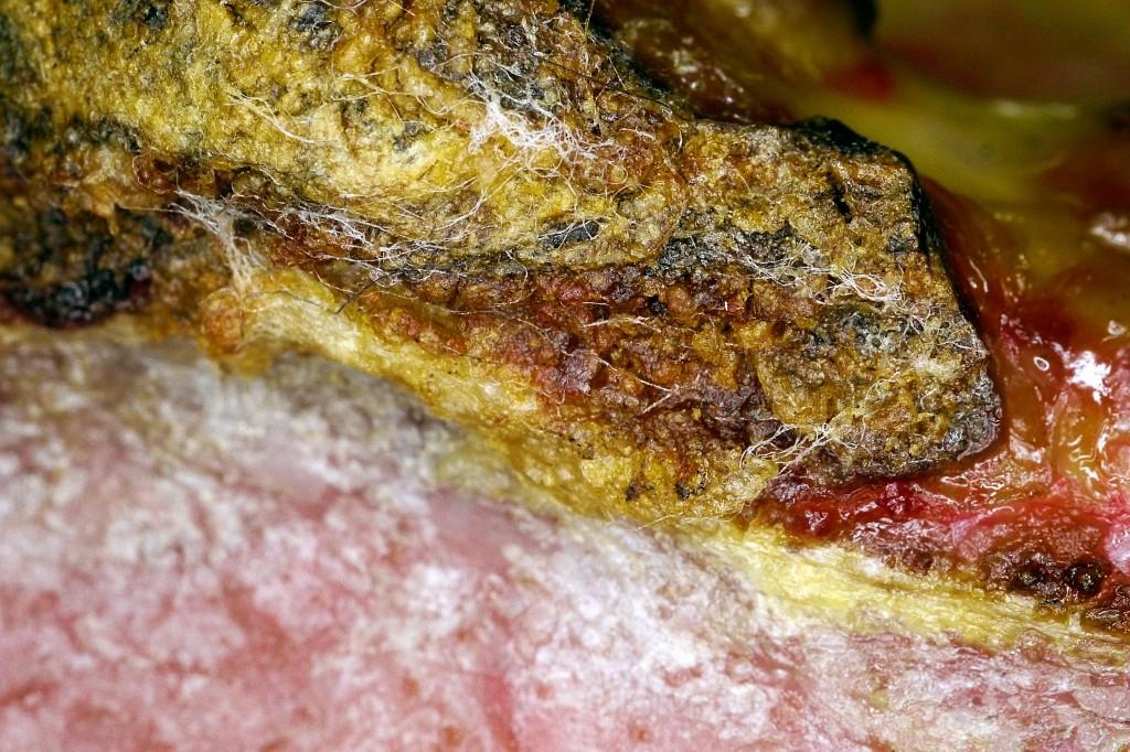 Fasergewebe aus endloser Granula